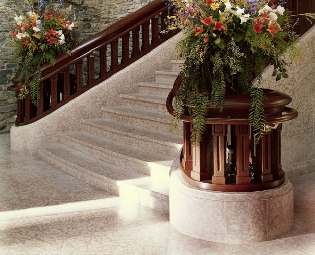 Banff Springs Hotel Interior Staircase