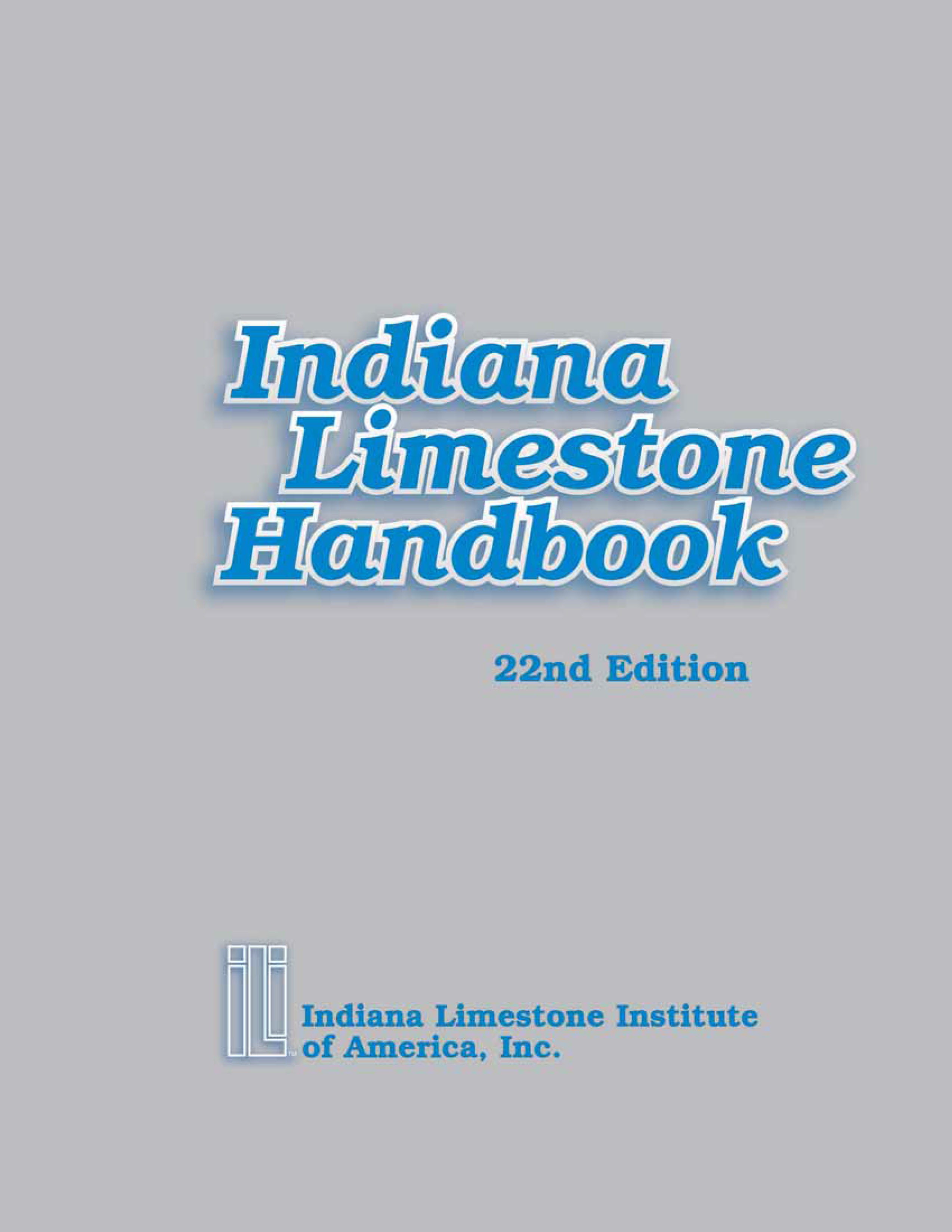 22nd Edition Handbook Cover